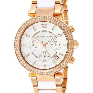 Michael Kors Ladies Watch Parker Chronograph